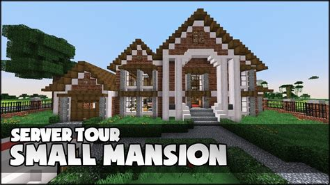 build a mansion minecraft small mansion youtube