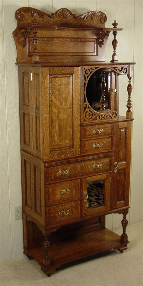 Ransom & Randolph Co. Oak Dental Cabinet   Model #75