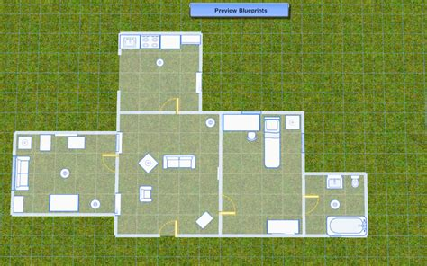 blue prints for a house blueprint mode the sims wiki fandom powered by wikia