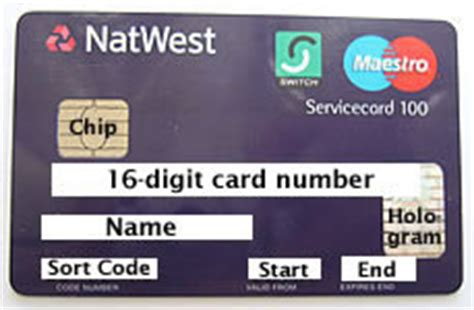 sort code on a bank card on a bank visa debit card what is the sort code and the