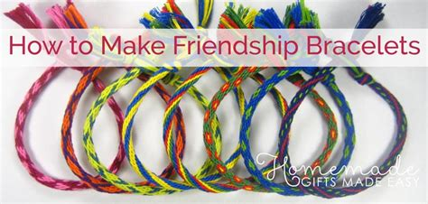 how to make friendship bracelets with how to make friendship bracelets in 7 easy steps