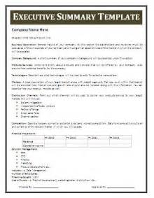 Executive Summary Template Professional Templates by Word Executive Summary Free Business Templates