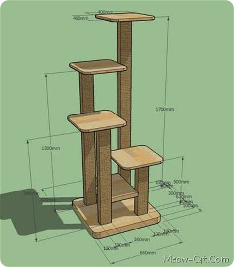 Cat Furniture Plans how to build your own cat tree felinefurni