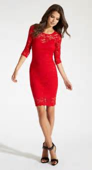 red lace dress dressed up