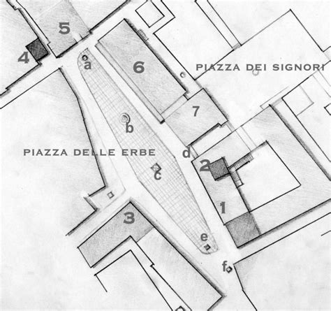 Plan Drawing Software file piazza erbe plan jpg wikimedia commons