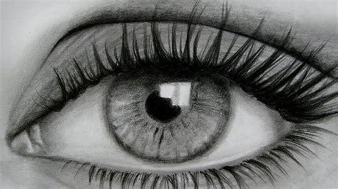 imagenes de ojos realistas para dibujar como dibujar un ojo a lapiz horac art youtube
