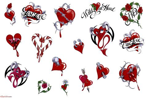 devil heart tattoo designs tattoos tattoos designs hearts