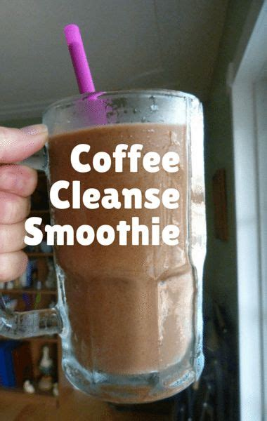 Detox Coffee Dunkin Donuts by Dr Oz Bridal Boot C Coffee Cleanse Smoothie Recipe