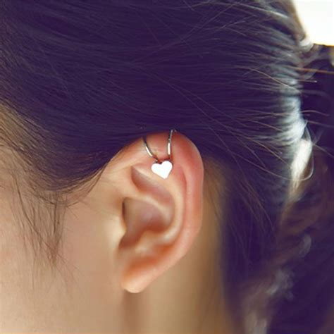 new ear cuff clip cartilage clip on earring helix
