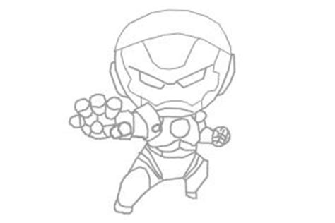 cute iron man coloring pages chibi iron man drawing by timothy arazo drawingnow