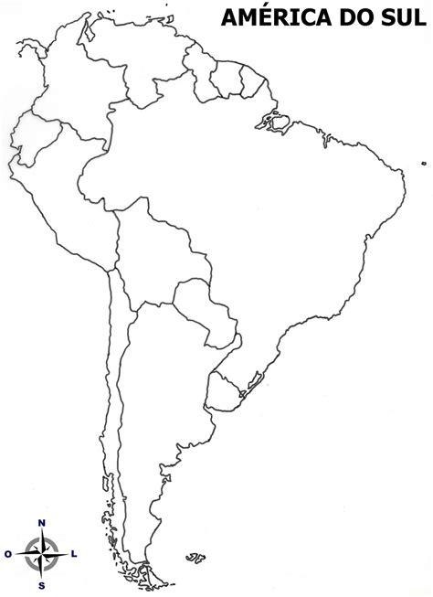 mapa a america do sul professora bolico atividades mapas