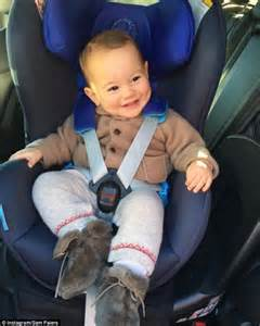 correct car seat sam faiers blasted by mums for position of baby s car seat
