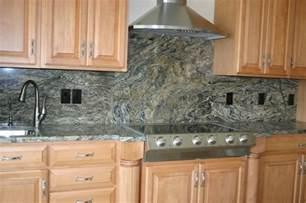 backsplash with granite granite countertops and tile backsplash ideas eclectic