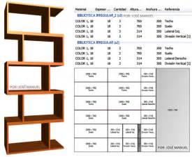 Programa Para Disenar Planos dise 241 o de muebles madera dise 241 o biblioteca 2016