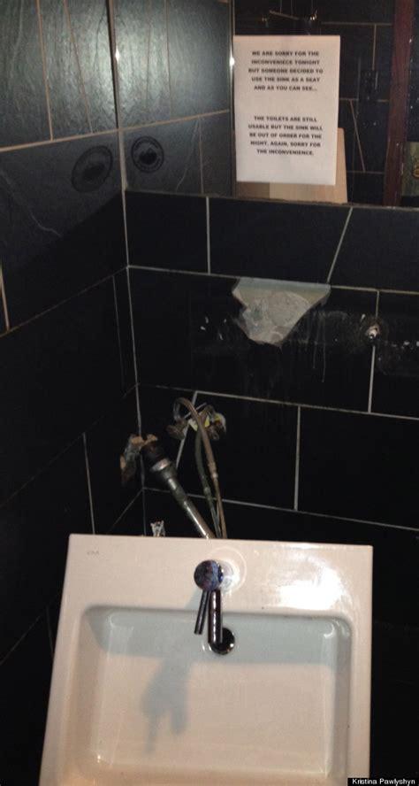 bathroom fail this is an epic bathroom fail in vancouver photo