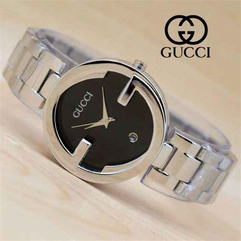 jual jam tangan gucci wanita rantai stainless ga22 harga murah