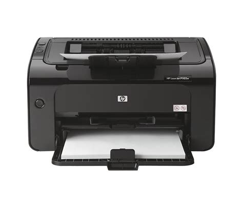 Printer Laserjet Black And White new hp laserjet pro p1102w wireless black and white