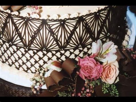 youtube membuat hiasan dari coklat tutorial cara membuat garnish pagar coklat the journey