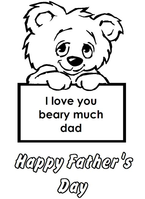 Happy Fathers Day Coloring Pages Printable Happy Fathers Day Coloring Pages