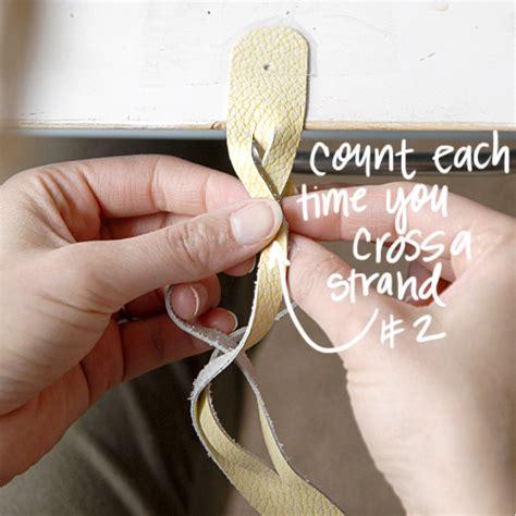 magic braided leather tutorial   love   melissa esplin