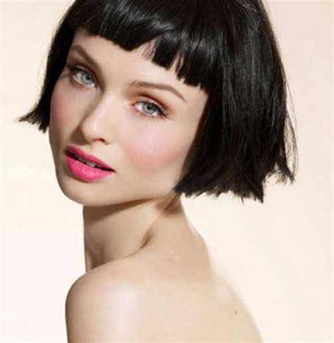 medium blunt hairstyles with bangs choppy hairstyles 2016 with bangs