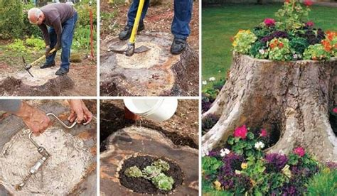Diy Log Planter by Rustic Decor Ideas Using Logs Recycled Things