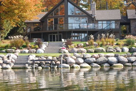 Waterfront Home Design Ideas waterfront landscaping traditional landscape toronto