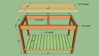 Kitchen Island Building Plans how to build a wooden kitchen island howtospecialist how to build