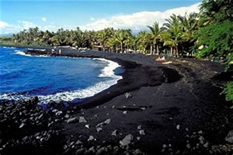 picture photo black sand beach at punaluu big island world tour jan 2015 punalu u beach hawai i