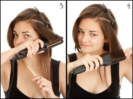 curl your hair with straighteners curl your hair with a straightener or flat iron