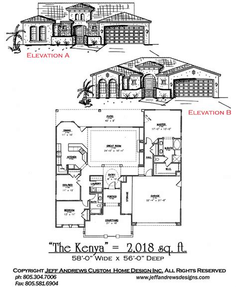 andrews home design group the kenya 2 018 00 andrews home design group st