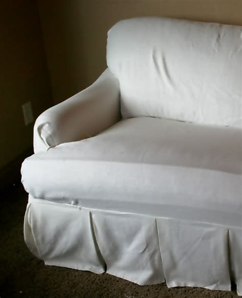 Pillow Arm Sofa Slipcover Uglysofa Loosefit T Cushion Boxpleat Slipcover Arm Chair