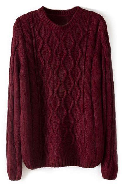 burgundy knit sweater knitted burgundy jumper burgundy