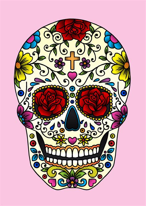 sugar skull 187 jadeboylan on juicycanvas com