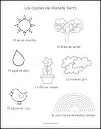 earth day coloring pages in spanish celebrate earth day in spanish 5 activities spanish