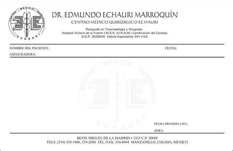 imagenes de recetas medicas para imprimir formato de recetario medico coles thecolossus co