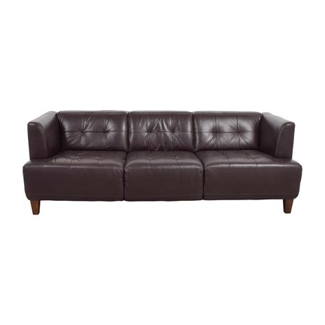 brown leather tufted brown tufted leather sofa chesterfield tufted leather sofa