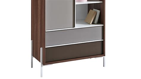 kommode highboard weiss kommode vogue highboard sideboard in nussbaum braun und wei 223