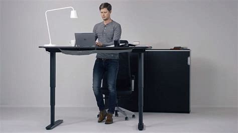convertible standing desk ikea reveals convertible standing desk that can become a