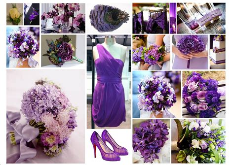 the color purple themes tbdress lavish purple themed weddings for all seasons
