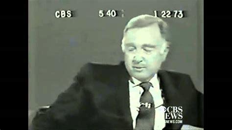 50 years ago today walter cronkite signed on tvnewser walter cronkite announces the death of lbj doovi