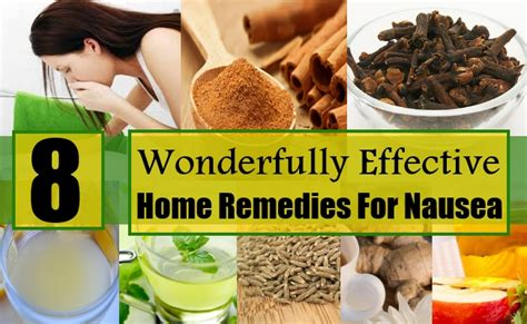 Home Remedies For Vomiting And Nausea And Personality Grooming by 8 Wonderfully Effective Home Remedies For Nausea Diy