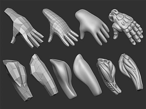 zbrush arm tutorial pinterest the world s catalog of ideas