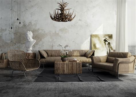 rustic industrial living room 31 ultimate industrial living room design ideas