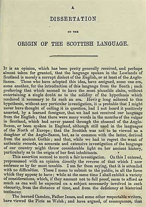 dissertation etymology jamieson s dictionary of the scottish language