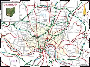 Cincinnati Ohio Map by Maps Update Cincinnati Tourist Attractions Map Map