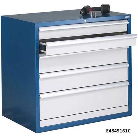 euroslide 5 drawer storage cabinets 840mm high ese direct