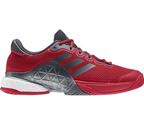adidas barricade  boost mens tennis shoes redgrey