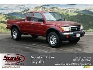 2000 Toyota Tacoma Pictures 2000 Toyota Tacoma V6 Trd Extended Cab 4x4 In Sunfire