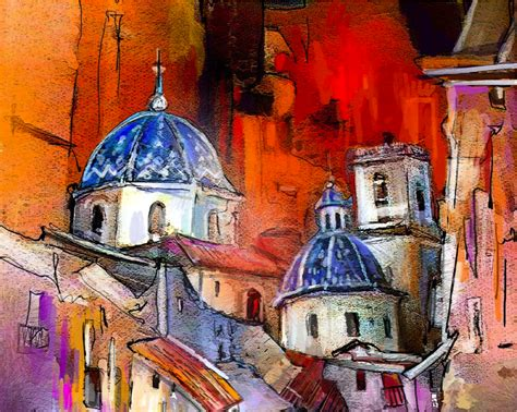 paint places creating impressions of places the colourful travel